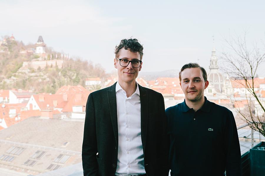 Sebastian Höglinger und Peter Schernhuber © Diagonale/Sebastian Reiser